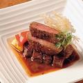 料理メニュー写真黒毛和牛のステーキ