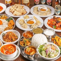 アジアン料理も楽しめます!