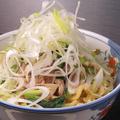 料理メニュー写真豚野沢菜麺