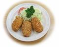 料理メニュー写真クリームコロッケ 3ケ