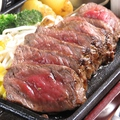 料理メニュー写真アンガス牛サーロインステーキ
