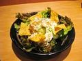 料理メニュー写真鮪とアボカドのサラダ/シーザーサラダ/ポテトサラダ