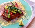 料理メニュー写真牛肉鉄板焼き