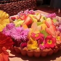 花束とケーキの融合?フラワータルトご用意します!!