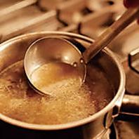 旨みがしみ出た絶品スープ