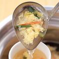 【スープバー】ランチ・定食は、プラス¥100+税でカルビスープに変更できます!