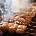 こだわりの『炙り』による逸品!当店自慢の料理メニューの串焼きは表面はパリッと中身はふっくらです!ぜひこの機会にご賞味くださいませ。