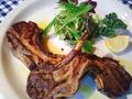 料理メニュー写真仔羊のグリル ローズマリー風味(1本)
