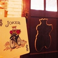 【遊び心溢れる内観】入り口ドアの裏の影には「ジョーカー」が♪気付くとちょっとうれしい仕掛けです。