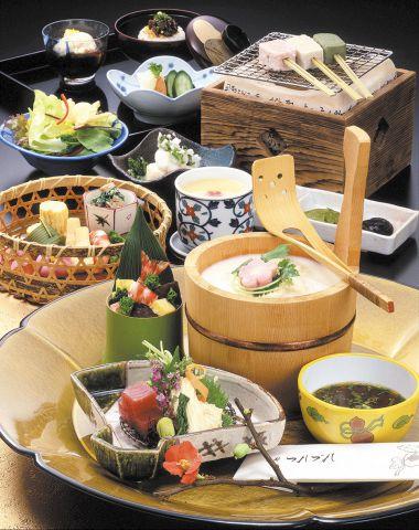 京の桶湯葉会席 『京のしらべ』