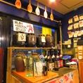 焼酎好きにはたまらない!おすすめの鹿児島焼酎約20種がなんと飲み放題!1時間1000円とコスパ◎