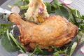 料理メニュー写真名物!赤鶏の座布団焼き