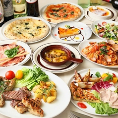 Pizzeria Circolo ピッツェリア チルコロのコース写真