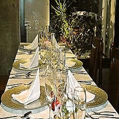 【個室】記念日やデート、顔合わせや大事な方とのお食事にぴったり☆(店内レイアウト3)