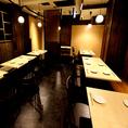 仲間内での飲み会や合コン等、多目的に使用できます。テーブル席なので、組み替えて様々なシーンに対応できます♪40名様以上での貸切も承っておりますので、お気軽にご相談ください。宴会時は当店自慢のもつ鍋付き宴会コースがオススメ!東梅田で居酒屋をお探しなら、ぜひ当店へ!