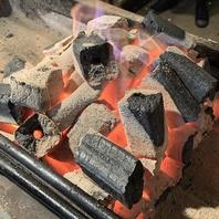 焼鳥屋だからこそ!巻き串を本格炭火で焼き上げます!!
