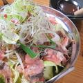料理メニュー写真肉なべ
