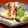 料理メニュー写真鯛かま塩焼き