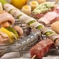 料理メニュー写真季節の新鮮食材