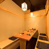 バリアフリーで車椅子も入店可能です!是非お問合せ下さい。1階なのでスムーズに入店も可能。個室の椅子を外して入店が可能です。是非お問合せ下さい。接待や宴会にも最適でございます。お時間に応じて値段交渉など可7名様個室と4名様個室3つを結合して最大17名様までご利用可≪完全個室居酒屋 鳥万作 東京八重洲店≫