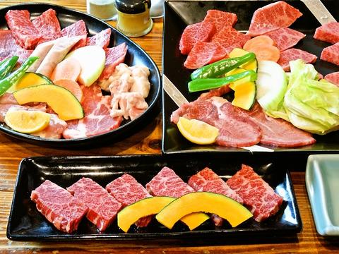 カルビとロースは佐賀牛、伊万里牛。肉屋直営ならではの牛一頭丸ごと仕入れの焼肉店。
