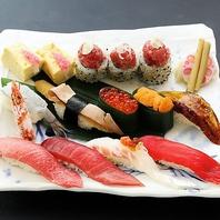 職人の技を堪能!本格的な江戸前寿司をお召上がり下さい
