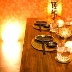 少人数様でのご利用にぴったりの個室席をご用意。宴会、飲み会に最適なお客様のご希望に添えるお席を多数ご用意しておりますので、お気軽にお問い合わせください。