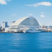 270度を海に囲まれたホテル