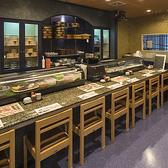 お寿司用のカウンターがございます♪