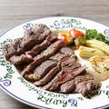 料理メニュー写真ビーフステーキ(ゴブリン風)