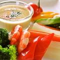 料理メニュー写真たっぷり温野菜のバーニャカウダ