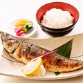 料理メニュー写真焼き魚三種定食