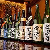 十四代を初め東北の稀少地酒を多数取り揃え。