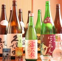 [北習志野駅徒歩1分の海鮮個室居酒屋]豊富な日本酒入荷