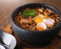 名古屋の味、魂です。味噌煮込みうどん(626円)