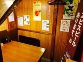 一階の一番奥の半個室。リフォームしまして広くなりました☆ゆったりサイズのテーブル席