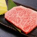 料理メニュー写真長崎和牛特選ロースステーキ