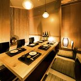 開放的な空間で賑やかにお酒を楽しみたい方におすすめのテーブル席です。また当店では分煙対応をしておりますので、煙草が苦手なお客様も安心です。ご利用人数に合わせて柔軟に対応致します。