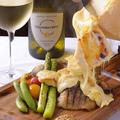 料理メニュー写真≪ラクレットチーズ≫