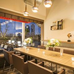 大人気の個室は早い者勝ち♪ランチ―パーティや女子会にもおススメなプライベート空間です。本格イタリアンをオシャレなデザイナーズ空間で★ご予約はお早めに◎