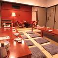 宴会は最大30名様まで。人数に合わせてお座敷仕様、ソファー仕様を選べます。個室を仕切り人数に合わせた個室に変更も可能です。