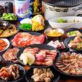 当店自慢の食べ放題コースは全70種類以上で1980円(税抜)からご用意しております。各種宴会に最適なプランをご用意しておりますので、お気軽にお問合せください。