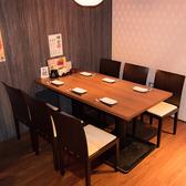 【博多駅スグ!】全席喫煙OK★6名様テーブルもご用意しております!
