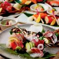《こだわりの熟成魚》通常の鮮魚と熟成魚の食べ比べが可能!煙の演出 薫煙仕立ての熟成魚は女性が喜ぶこと間違いなし!