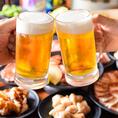 大人気の食べ飲み放題プランを2960円(税抜)からご用意しております。豊富なお肉の種類だかでなく、アルコールからソフトドリンクまでドリンクメニューも充実しております。