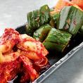 お肉だけではなく焼肉店にぴったりな逸品料理もご用意しております。箸休めのキムチなどは焼肉にはもちろんのことお酒との相性も抜群fです◎是非逸品料理もお召し上がりください。