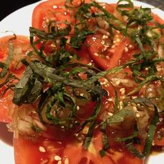 トマトと青じそのカルパッチョ