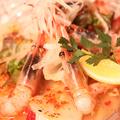 料理メニュー写真甘海老とホタテのカルパッチョ エスニック風