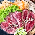 料理メニュー写真国産牛ロースあぶり焼き