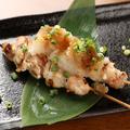 料理メニュー写真地鶏おろしポン酢